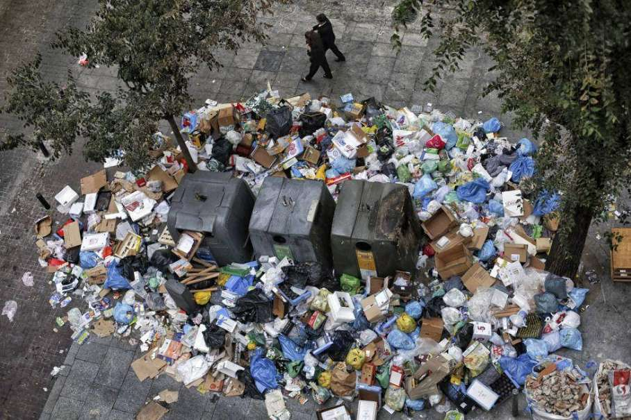 La basura afecta al control de plagas en Madrid