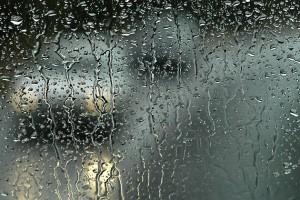 Lluvia en cristal